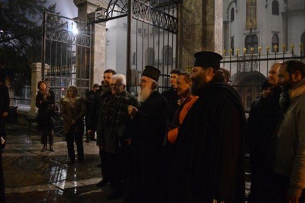 Βελιγράδι 2015 μὲ τὸν Πατριάρχη Σερβίας κ. Εἰρηναῖο