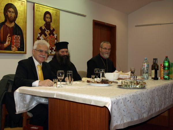Βελιγράδι 2015 μὲ τὸν πατέρα Stojadin