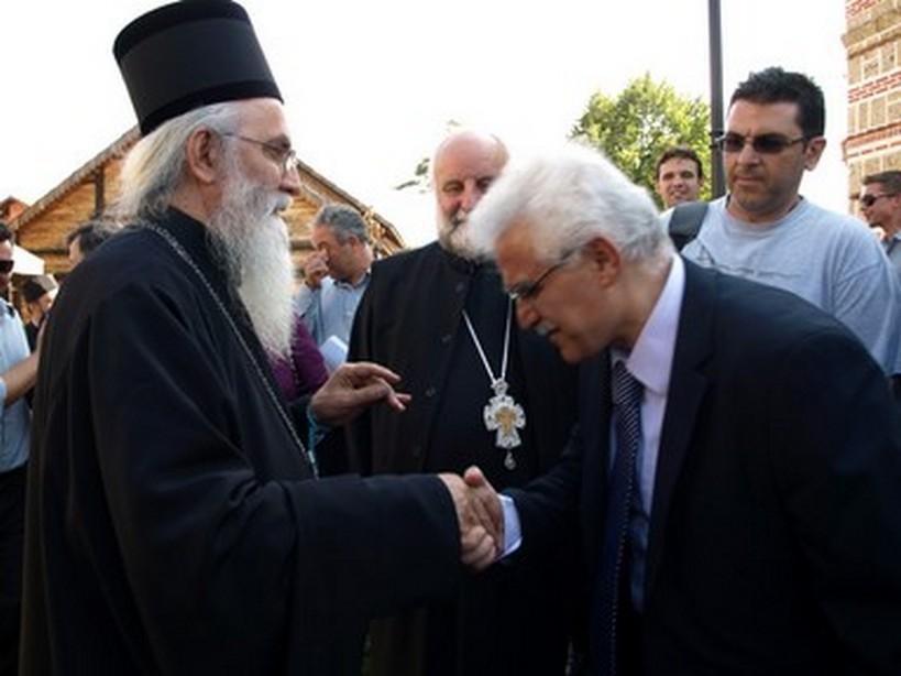 Valjevo Σερβία 2012 μὲ τὸν Μητροπολίτη